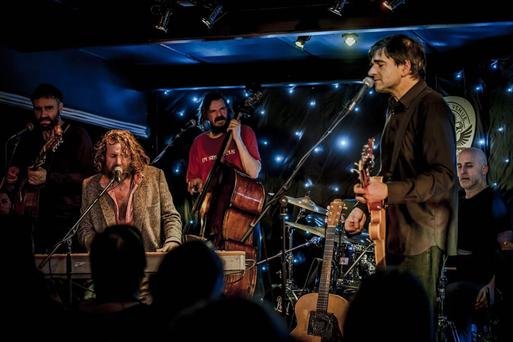 Hot stuff: Hothouse Flowers's 'I Can See Clearly Now' topped the UK's download charts this week