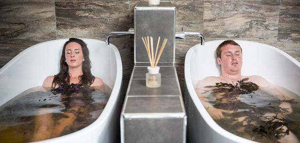 Chilling: You can enjoy a spa treatment at Lusty Beg