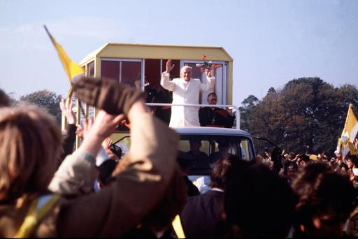 Mass gathering: Pope John Paul II in the Phoenix Park