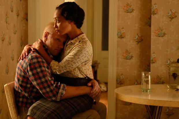 Tipped: Ruth Negga is a Golden Globes contender with her performance in civil rights drama 'Loving', alongside Joel Edgerton