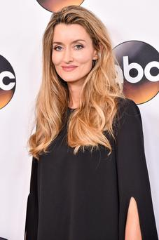 Mother of three Natascha McElhone attends a red-carpet event