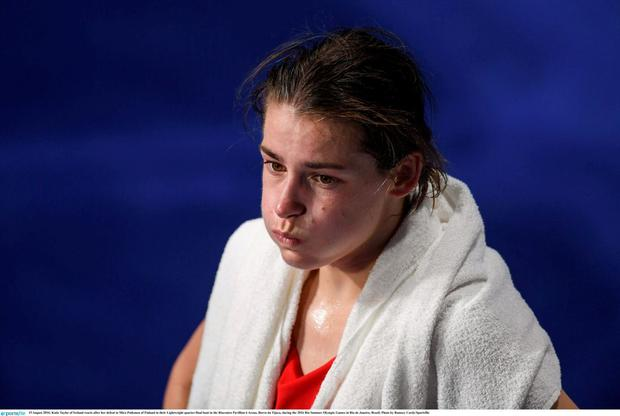 Katie Taylor failed to medal in Rio