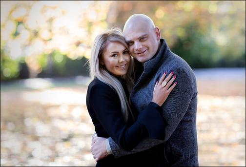 Clark Hetherington proposed to his wife Ruth at a Bruno Mars concert. Photo: David Conachy