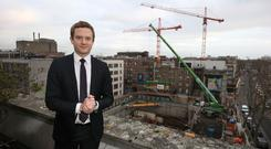 On the up: Economist David McNamara says Dublin accounts for 40pc of the country's GDP. Photo: Damien Eagers