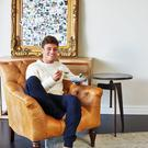 Tom Daley tucks into one of his new recipes