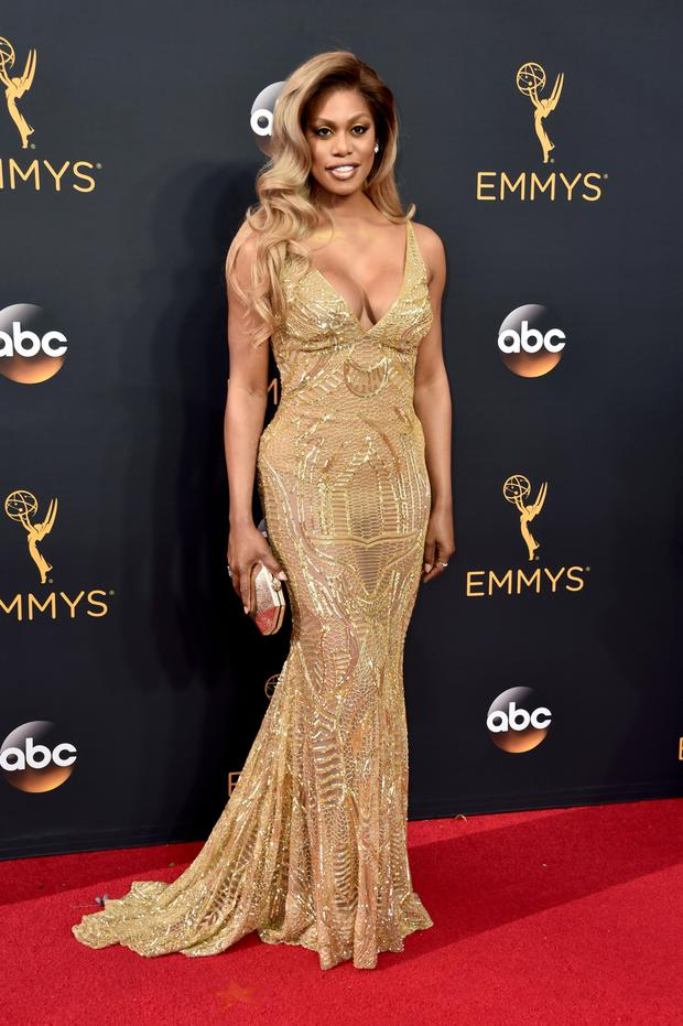 Leading lady: Laverne Cox is a well-known transgender personality