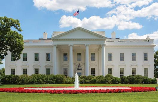 1600 Pennsylvania Avenue: The White House, where the president sleeps, attracts far more visitors than Capitol Hill