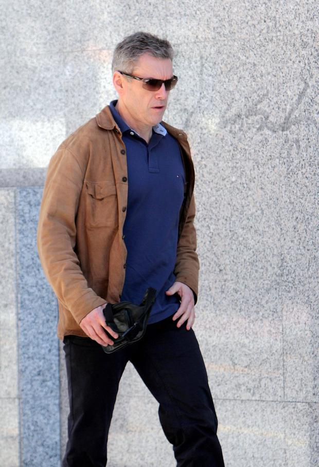 Christy Kinahan arrives in court in Estepona, Spain in 2013.