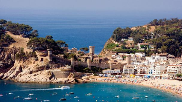 Stunning: Sitges is home to many envy-inducing fabulous and ornate mansions and hotels
