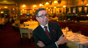 Co-owner and maitre d' of the Trocadero Restaurant Robert Doggett. Photo: Mark Condren