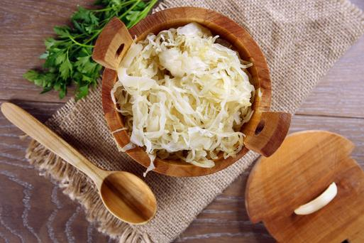 'Ladies, get the sauerkraut on to your plates - if it can possibly help you avoid unpleasant and expensive IVF treatment, it's worth a shot'
