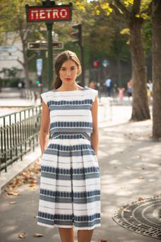 Jasmine dress, €255, available at independent boutiques. aideenbodkin.com