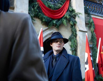 Making alt-history: Sam Riley who plays Detective Douglas Archer in SS-GB
