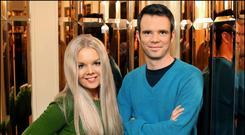 Mairead Nesbitt and her brother Karl are accomplished musicians. Photo: Steve Humphreys