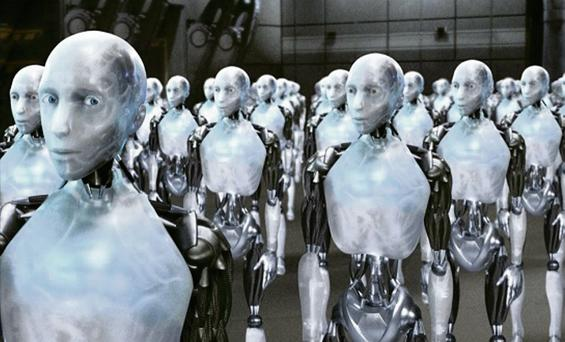A rogue robot (not pictured) has been blamed for the death of a factory worker in Michigan