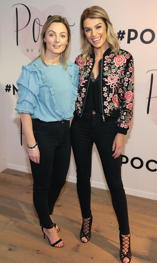 Pippa O'Connor with her sister Susanna. Photo: Brian McEvoy