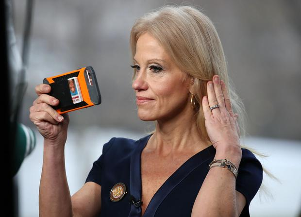 Counselor to the president, Kellyanne Conway