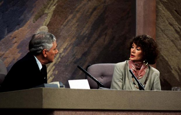 Measured: Annie Murphy on the Late Late Show in 1993