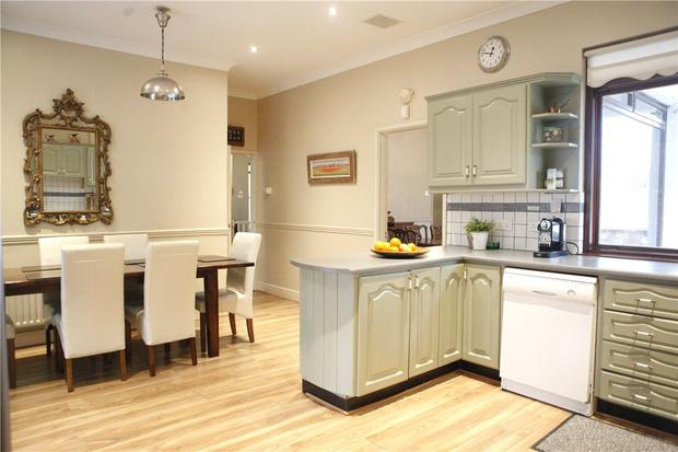 Rathmeel boasts a well-equipped kitchen