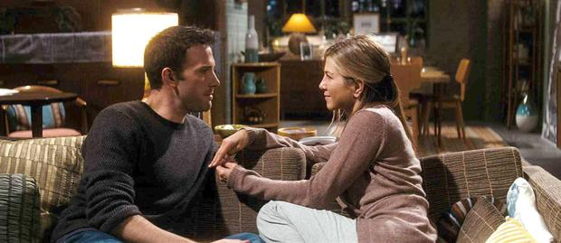 Waiting for a proposal: Jennfier Aniston stars as Beth and Ben Affleck plays the reluctant Neil in He's Just Not That Into You