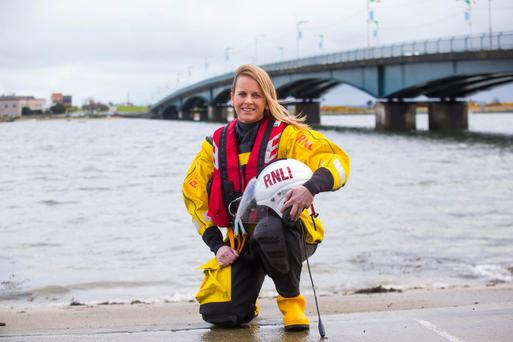 Lorraine Galvin from RNLI Wexford. Photo: Mary Browne