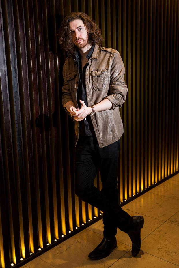 Hozier: Possibly a greater party animal than Bono?