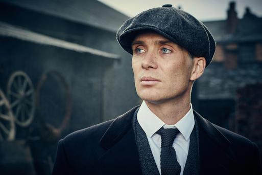 Cillian Murphy as Tommy Shelby on 'Peaky Blinders'