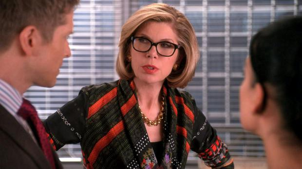 Executive order: Christine Baranski plays Diane Lockhart, a top litigator and senior partner of a Chicago law firm on The Good Wife