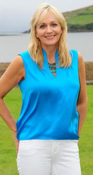 Miriam O'Callaghan would love to move the Prime Time studio to Dingle. Photo: Dan Macmonagle