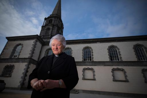 Maria Jansson, Dean of Waterford, at the Church of Ireland, Cathedral Square, Waterford City. Picture: Patrick Browne