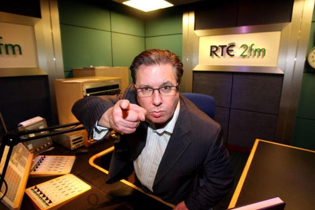 Your country needs you: Gerry Ryan rose to the top of radio broadcasting after performing a hoax involving a lamb which pulled the wool over the nation's ears.