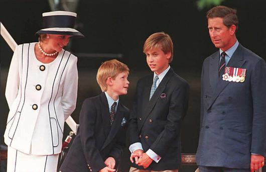 Princess William, Harry to speak about Diana's death in BBC film