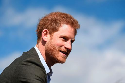 Sense of loss: Prince Harry opened up about the loss of his mother, Diana