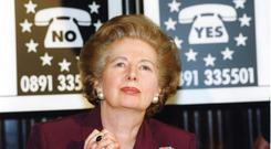 One-of-a-kind: Margaret Thatcher