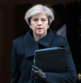 British Prime Minister Theresa May Photo: Getty Images