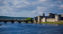 Must see: St John's Castle on the banks of the Shannon in Limerick
