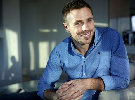 Tommy Bowe: 'When I go home, it's to relax'. Photo: Gerry Mooney