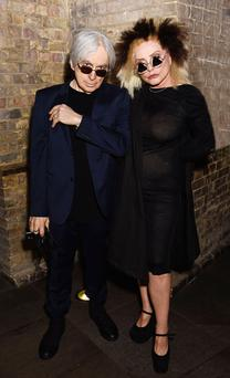 Hearts of class: Chris Stein and Debbie Harry of Blondie. The band have just released a new album, Pollinator. Photo: Dave J Hogan