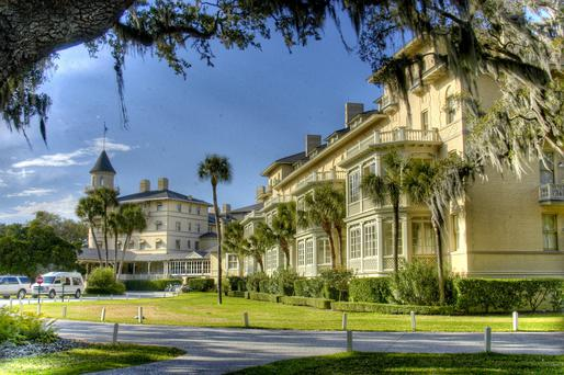 The luxurious Jekyll Island Club Resort is filled with historic charm