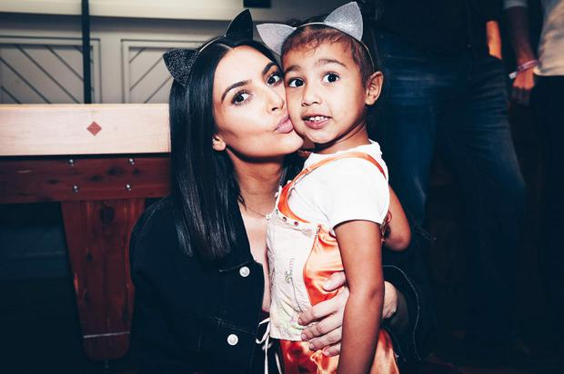 Highlighting the practice: Kim Kardashian took the pills after having North West