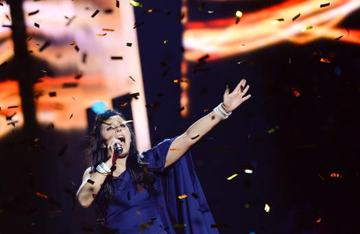 Victor: Jamala took the Eurovision crown for the Ukraine last year with the song '1944'