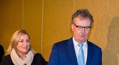 'A bit of fun': Mike Nesbitt and his wife Lynda Bryans