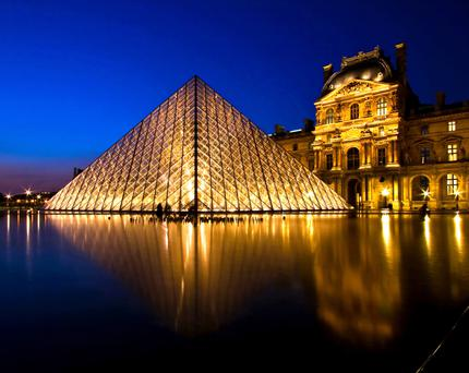 Night at the museum: The Louvre opened its doors late last Saturday as part of European Museum Night