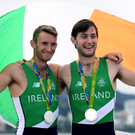 Gary and Paul O'Donovan. Photo: Sportsfile