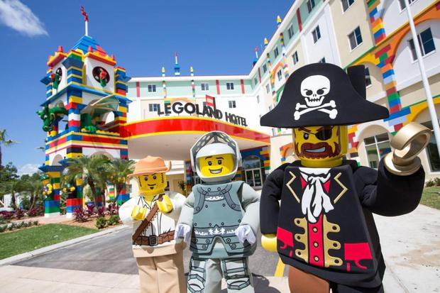 The hotel in Legoland Windsor