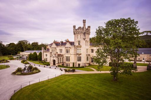 The restored 17th-century castle on the shores of Lough Eske is just 6km from Donegal Town