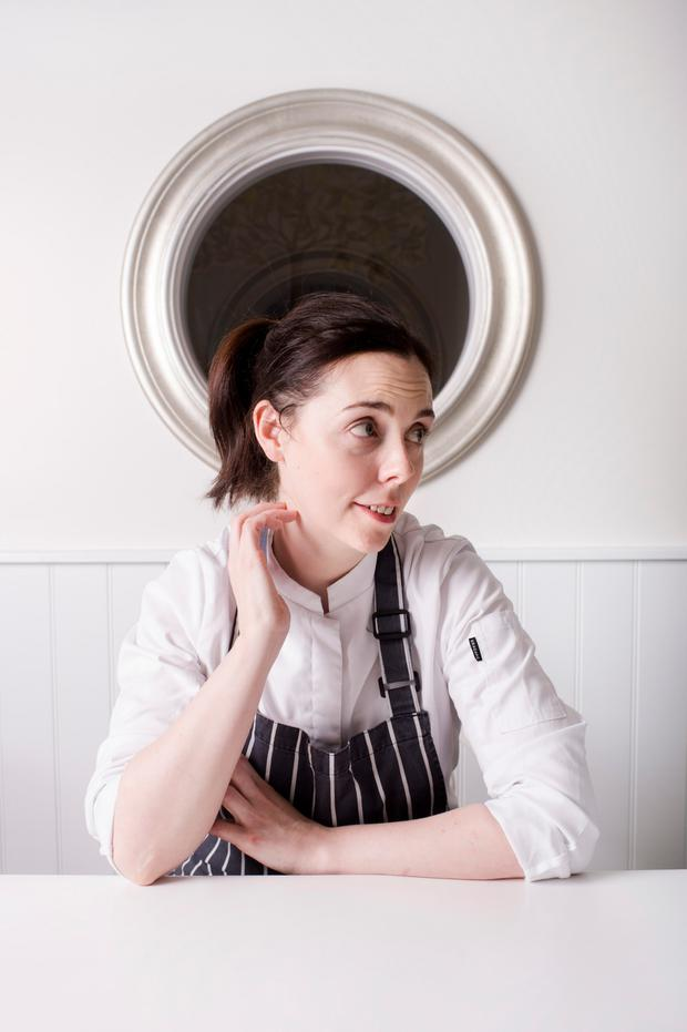 Danni Barry, head chef at Deane's Eipic in Belfast