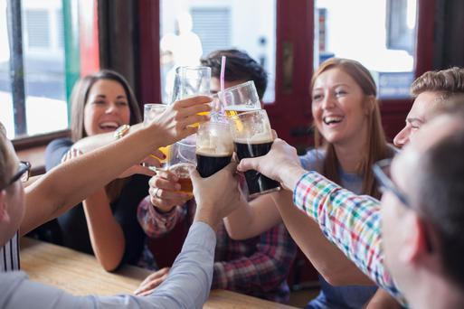 Alcohol consumption in Ireland is dropping