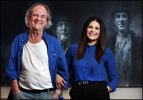 Lisa Cannon and her dad Mick both share a love of music and film. Photo: Steve Humphreys
