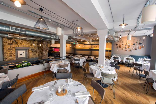 Lots of tables to fill: Rachel's in Cork. Photo: Michael Mac Sweeney/Provision